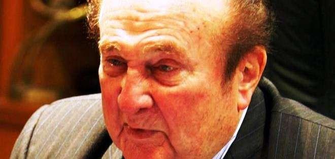 Nicolás Leoz, expresidente de la Conmebol (Foto: EFE)