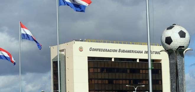 La ley databa de 1997 y le confería a los edificios de la Conmebol el mismo estatus de una embajada. Fotos: AFP.