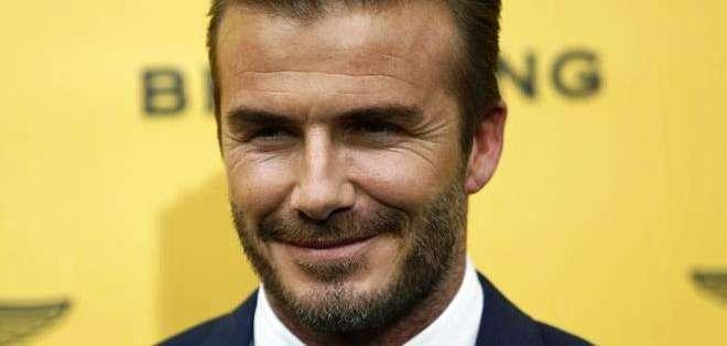David Beckham, exfutbolista inglés (Foto: EFE)