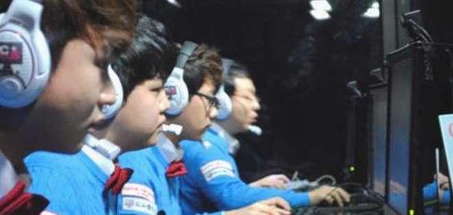 La Liga Premier de los e-sports en Corea del Sur.