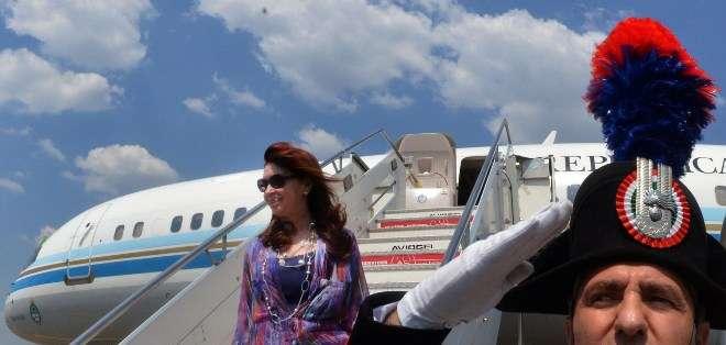 Francisco también tenía previsto recibir este domingo a Nicolás Maduro pero el mandatario suspendió el viaje por motivos de salud. Foto: AFP.