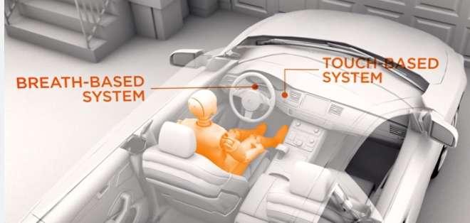 Si el conductor registra un índice superior a 0,08%, el coche inmediatamente se mantendrá inmóvil.