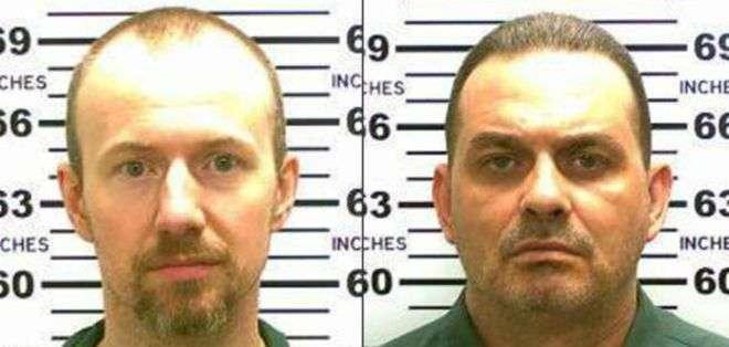 David Sweat, izda., cumplía condena por matar a un ayudante de sheriff, y Richard Matt, dcha., por secuestrar y matar a su jefe.