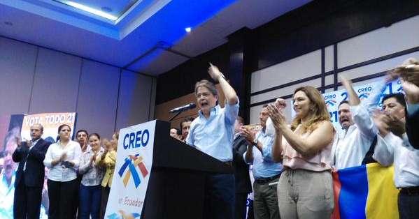 El líder de CREO reiteró que se va candidatizar a la Presidencia para las elecciones 2017. Fotos: @LassoGuillermo.
