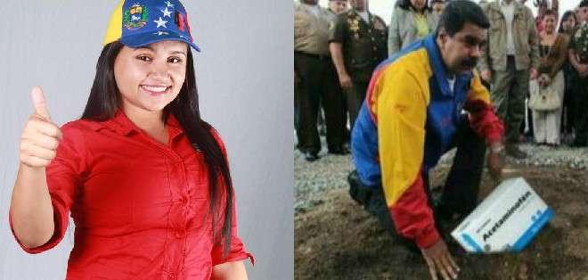 VENEZUELA. Rona del Valle Gomez es profesora universitaria y precandidata a la Asamblea Nacional por el Partido Socialista Unido de Venezuela (PSUV).