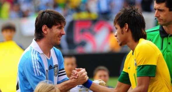 Messi y Neymar son las estrellas de la Copa América.