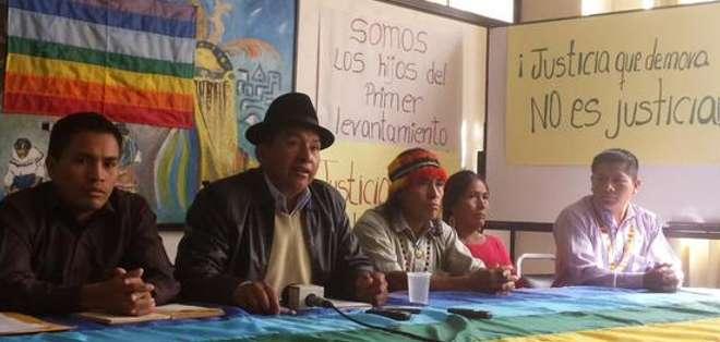 GUAYAQUIL.- La asociación indígena asegura que dicha ley afecta a las comunidades y es inconstitucional. Fotos: Twitter Conaie