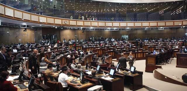 Uno de los temas que centró la atención de los asambleístas sobre esta ley es ¿qué pasará cuando el heredero es un menor de edad? Foto: Asamblea Nacional.
