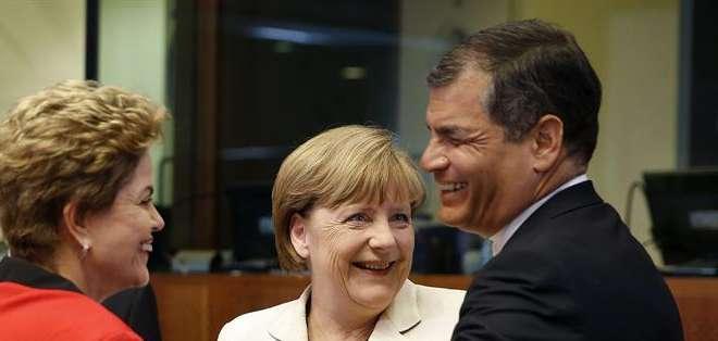 Correa, quien ocupa la presidencia pro témpore de la Celac, se refirió también al caso de la reestructuración de la deuda en Argentina y exigió que se respete el derecho soberano de los países