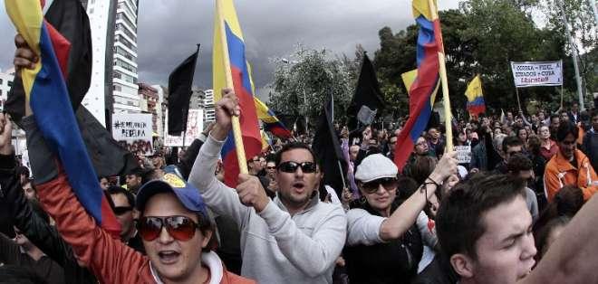 Darío Patiño reflexiona sobre la agitación que vive el país previo a la visita del papa Francisco. Foto: AFP