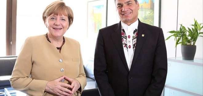 A criterio de Correa, el encuentro fue fructífero y se concretó el apoyo alemán para trabajar en el cuidado ambiental.  Foto: El Ciudadano.