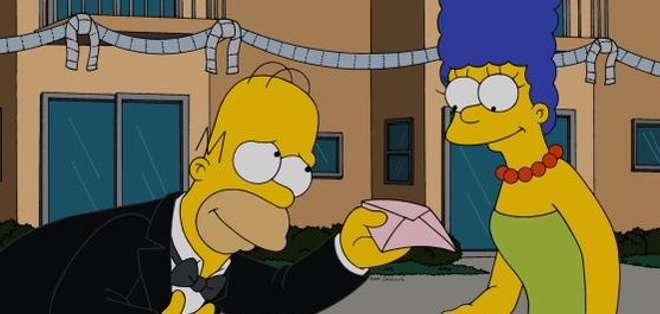 EE.UU.- La cuenta oficial en Twitter de los Simpsons salió al paso a las versiones sobre su ruptura. Foto: Twitter Oficial The Simpsons.