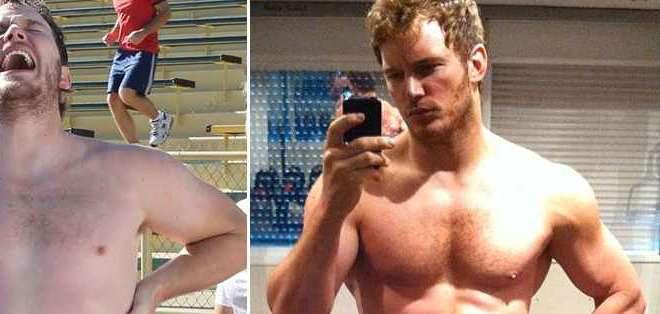 A base de duros entrenamientos y estrictas dietas, el actor adelgazó 27 kilos.