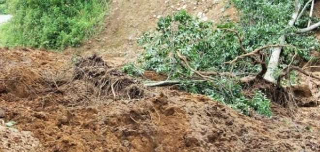 Las fuertes lluvias en la provincia de Chimborazo han afectado a la producción agrícola. Los habitantes de la zona de El Altar están preocupadas. Foto: referencial.