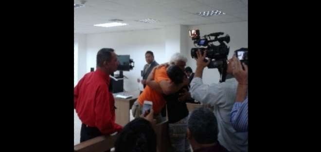 GUAYAQUIL.- El procesado permanece desde la noche del martes en el área de emergencia del hospital Universitario de Guayaquil. Foto: Archivo.