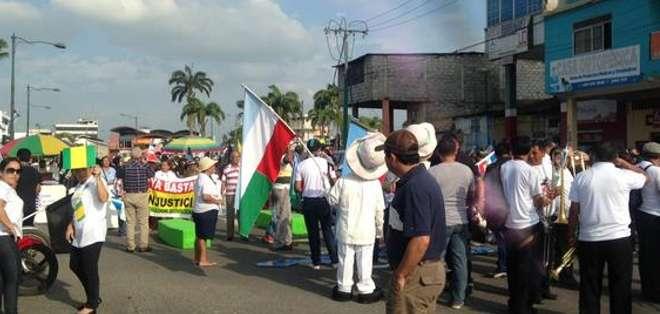 EL ORO.- Machala se adhiere a los escenarios de protesta contra las políticas del régimen. Foto: Cortesía Twitter Rafael Hernández.