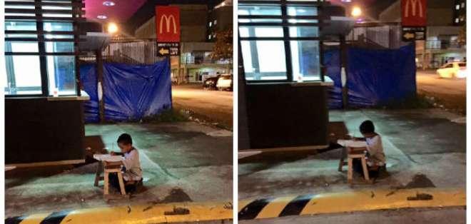 La imagen ha sido tomada en Cebú, una provincias de Filipinas.