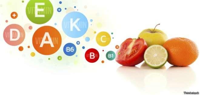 ¿Cuántos tipos de vitamina incluyes en tu dieta diaria?