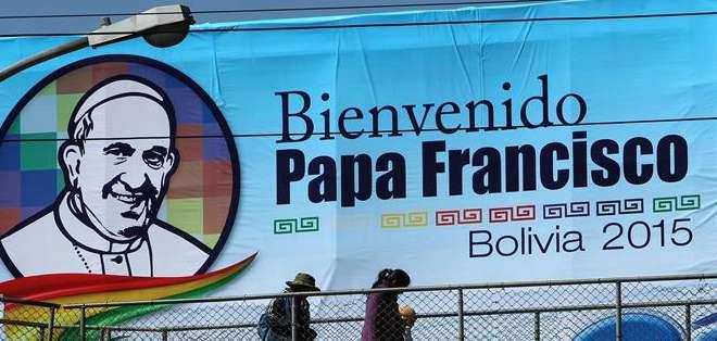 BOLIVIA.- Luego de su paso por el país, el sumo pontífice se trasladará de Quito a Bolivia y Paraguay. Fotos: Agencias
