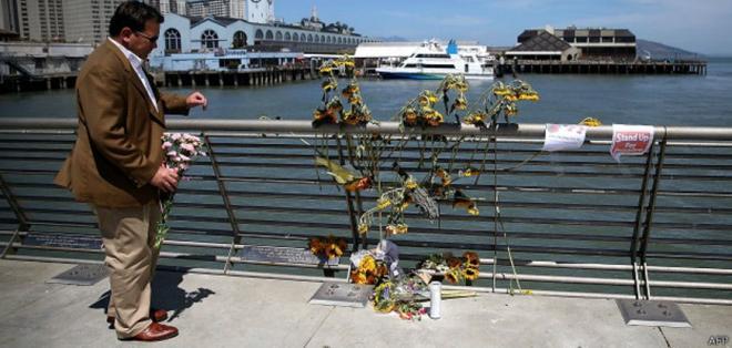Kathryn Steinle murió depués de que le dispararan en un embarcadero de la ciudad de San Francisco.