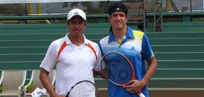 Escobar y Gómez son la dupla ecuatoriana en Panamericanos. Foto: Twitter.