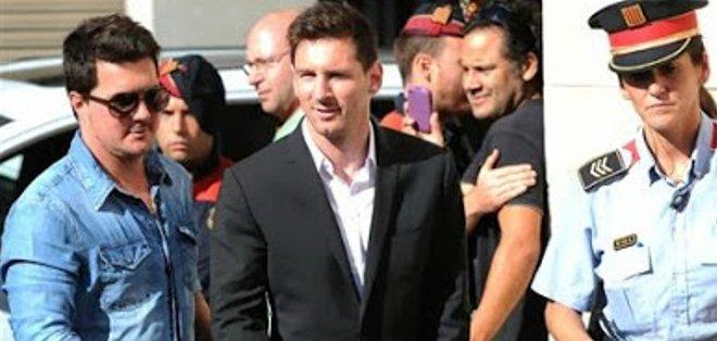 Matías y su famoso hermano, Lionel Messi.