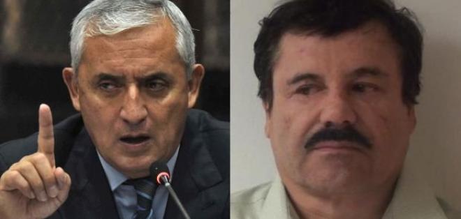 GUATEMALA.- Según el expresidente de Guatemala, el narcotraficante mexicano le ofreció mucho dinero. Foto: Internet