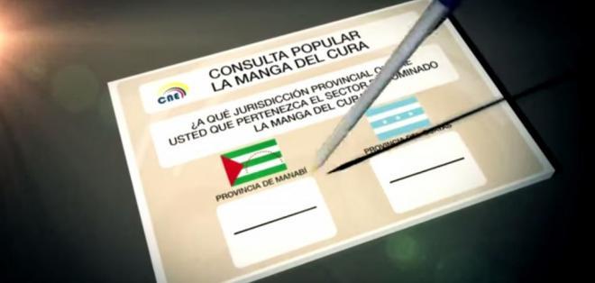 Guayas y Manabí se disputan este domingo el territorio de 487 kilómetros.  Foto: Captura de video, Visión 360