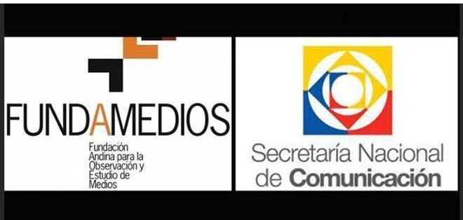 La Secretaría Nacional de Comunicación (Secom) comunicó hoy 8 de septiembre a la organización Fundamedios que inició el proceso para disolverla