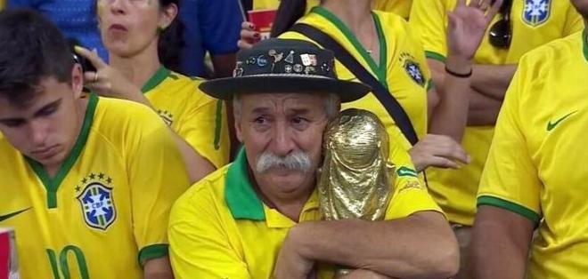 RÍO DE JANEIRO, Brasil.- El aficionado siguió a su selección en los últimos 7 mundiales. Foto: Archivo.