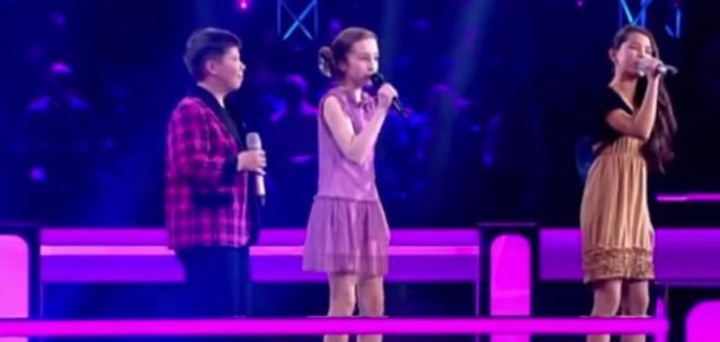 Ellos son Aleksandra Sirkasheva, Diana Pixun e Ivan Lesnoi.