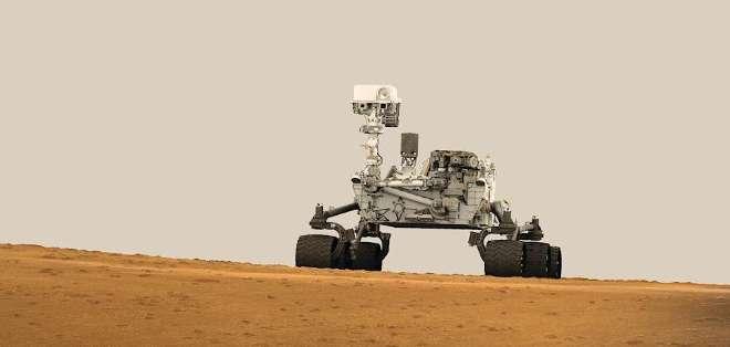 Curiosity, el laboratorio móvil de la NASA posado en la superficie del planeta rojo desde agosto de 2012.