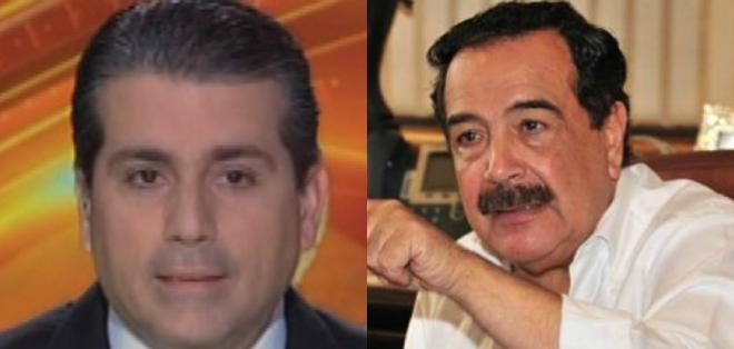 GUAYAQUIL, Ecuador.- Francisco Alarcón (i) y Jaime Nebot rechazan que se reviva impuesto derogado para Guayaquil. Collage: Ecuavisa