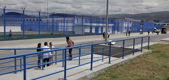 ECUADOR.- Antonio Buñay permanece en el centro de rehabilitación social en Latacunga. Foto: Archivo
