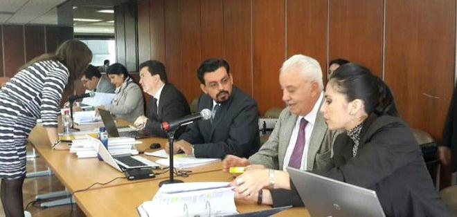 ECUADOR.- El fiscal Galo Chiriboga refutó el argumento de la defensa de los sentenciados y su pedido de nulidad de la sentencia. Foto: Fiscalía