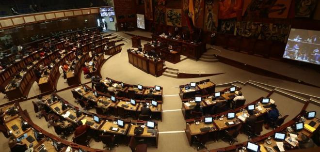 QUITO, Ecuador.- El proyecto de Ley Orgánica de Tierras Rurales y Territorios Ancestrales vuelve al pleno de la Asamblea Nacional. Foto: API