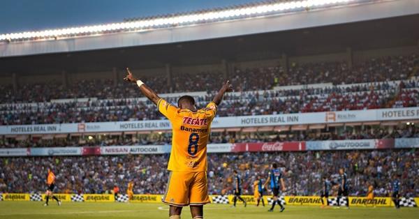 GUAYAQUIL, Ecuador.- Guerrón tuvo una destacada actuación con Tigres en Libertadores.