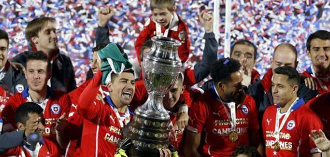 SANTIAGO, Chile.- El seleccionado chileno se coronó campeón del torneo.