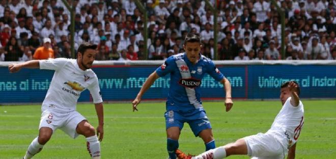 QUITO, Ecuador.- Emelec empató sin goles con Liga de Quito.
