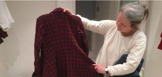La marca Universal Utility de Carin Mansfield busca fabricar ropa que dure mucho tiempo.