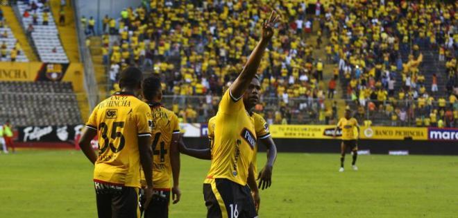 MANTA, Ecuador.- Caicedo es muy recordado por la hinchada de Barcelona.