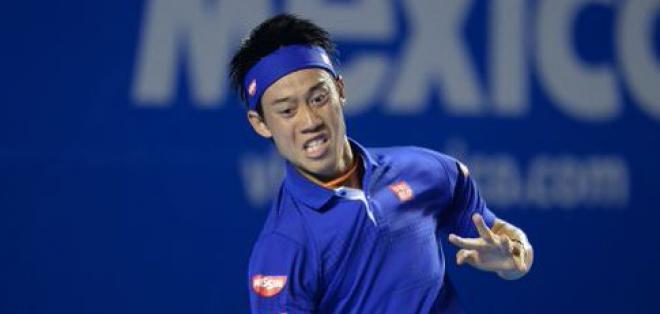 Kei Nishikori no tuvo problemas para superar la primera ronda del Abierto de México.