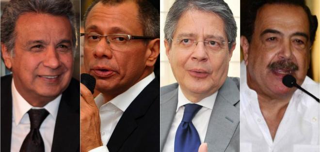 ECUADOR.- Dos encuestadoras analizan desde diciembre las preferencias de los electores en el país. Collage: Ecuavisa