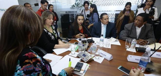 QUITO, Ecuador.- La comisión legislativa debe entregar el informe para primer debate hasta el 6 de marzo. Foto: API