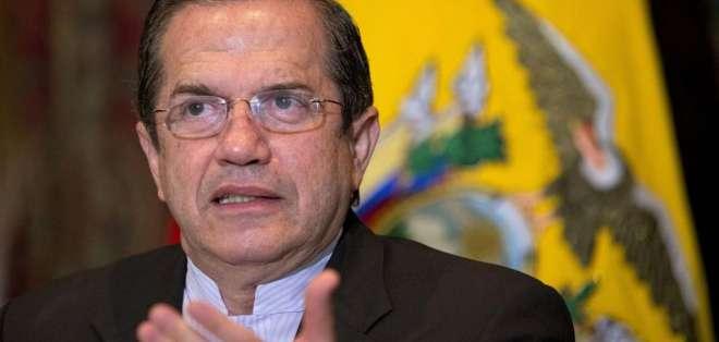 Según la agencia Andes, el canciller asumirá esta tarde el Ministerio de Defensa. Foto: Archivo