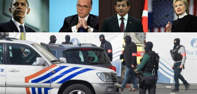 Representantes de Estados Unidos, Francia y Turquía condenaron los atentados.
