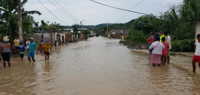 ECUADOR.- Esmeraldas es una de las provincias más afectadas por las intensas lluvias de la presente estación invernal. Foto: Agencias
