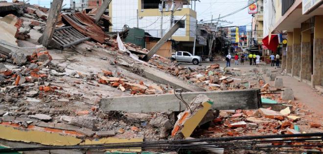 La cifra de heridos es de 1.557 personas, según vicepresidente Jorge Glas. Foto: API