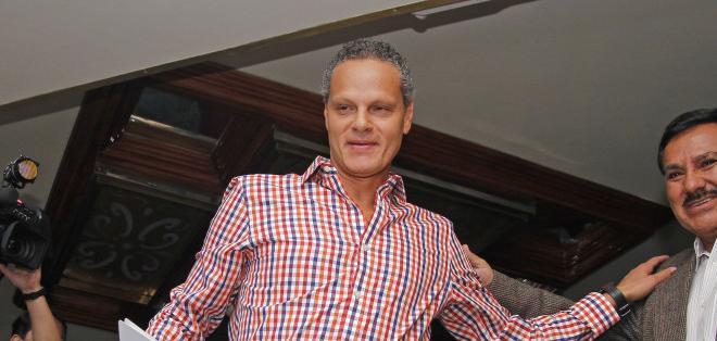 Esteban Paz confía en que Liga de Quito levante el nivel y pelee por el campeonato nacional. Foto: Archivo
