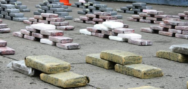 La droga se enviaría desde el puerto marítimo a Albania, según el Ministerio del Interior. Foto: Flickr / Ministerio del Interior